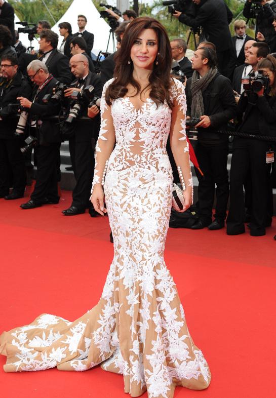 Les plus belle robe de najwa karam